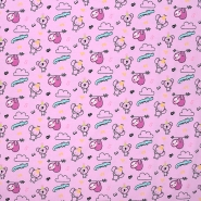 Jersey, pamuk, dječji, 20899-3005, ružičasta