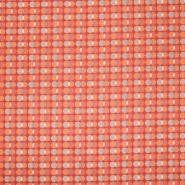 Pamuk, popelin, točke, 20844-6, crvena