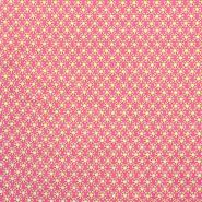Pamuk, popelin, cvjetni, 20847-2, ružičasta