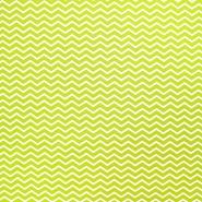 Pamuk, popelin, geometrijski, 20854-1, svjetlozelena