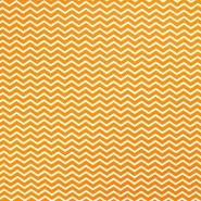 Pamuk, popelin, geometrijski, 20854-2, narančasta