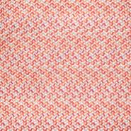 Baumwolle, Popeline, geometrisch, 20857-3, orange
