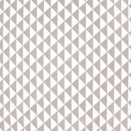 Pamuk, popelin, geometrijski, 20863-11, siva