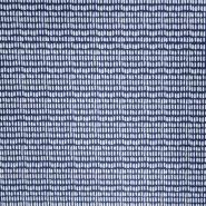 Pamuk, popelin, tisak, 20869-2, tamnoplava