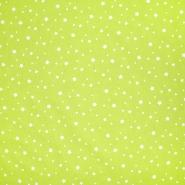 Pamuk, popelin, zvijezde, 20871-1, zelena