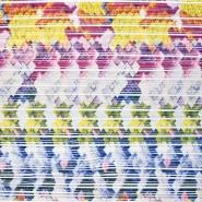 Plissee, Gewebe, geometrisch, 20875-0801