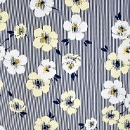 Jersey, viskoza, cvjetni, 20955-034, žuta