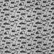 Sweatshirtstoff, 20961-061, grau