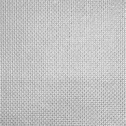 Kunstleder Mercedes, 19790-1, silbern