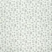 Sweatshirtstoff, 21068-002, mintgrün