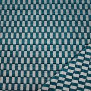 Dekostoff, Samt, Stainstop, geometrisch, 21058-27