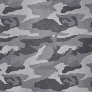 Sweatshirtstoff, flauschig, 19930-002, grau
