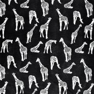 Deko, tisak, životinjski, 21006-1, crna