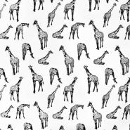 Deko, tisak,životinjski, 21006-2, bijela