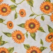 Dekostoff, Druck, floral, 21030