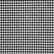 Dekor tkanina, karo, 21031-1, crna