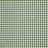 Dekostoff, Karo, 21031-2, grün
