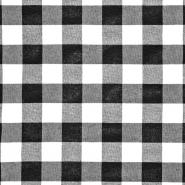 Dekostoff, Karo, 21033-1, schwarz