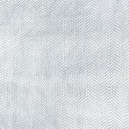 Kunstleder Kobra, 19794-3, silbern