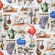 Dekostoff, Digitaldruck, Küche, 21051