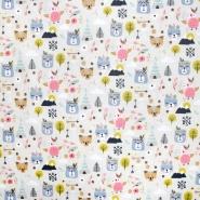 Baumwolle, Druck, für Kinder, 21054