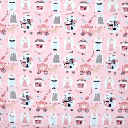 Jersey, pamuk, dječji, 21086-12, ružičasta