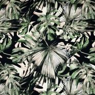 Satin, Baumwolle, tropisch, 21096-999