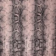 Pletivo,  piké, zmija, 21107-091, ružičasta