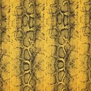 Wirkware, Piqué, Schlange, 21107-570, gelb