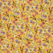 Jersey, Viskose, floral, 21111-570