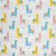 Sweatshirtstoff, 21115-320, hellgrau