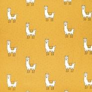 Gewebe, Baumwolle, Tiere, 21118-570, gelb