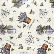 Dekostoff, Jacquard, floral, 21124