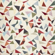 Dekostoff, Jacquard, geometrisch