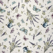 Dekostoff, Jacquard, floral, 21129