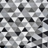 Dekostoff, Jacquard, geometrisch, 21130