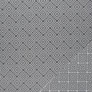 Dekostoff, Jacquard, geometrisch, 21131 - Bema Stoffe