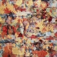 Dekostoff, Jacquard, abstrakt, 21139