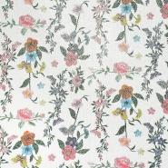 Kunstleder Digital, floral, 19388-559