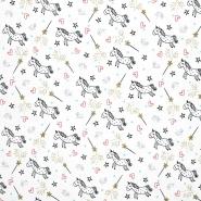 Jersey, pamuk, životinjski, 19945-001, bijela