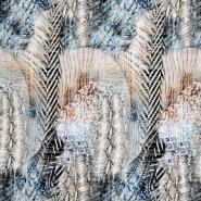Satin, Baumwolle, Polyester, abstrakt, 21269-090