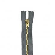 Zadrga, kovinska, 18cm, 21296-720, zeleno siva