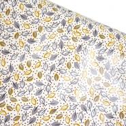 PVC für Tischdecken, Natur, 21309-2, weiß
