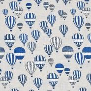 Dekostoff, Druck, Luftballons, 21316
