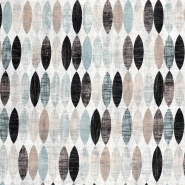 Dekostoff, Druck, geometrisch, 21318-2, mintblau