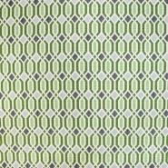 Dekostoff, Jacquard, geometrisch, 21312-37, grün