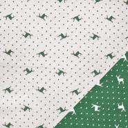 Dekostoff, Jacquard, festlich, 21310-37, grün