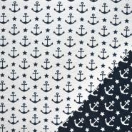 Deko žakard, obojestranski, morski, 21328