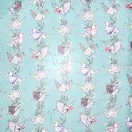 Seide, Chiffon, Origami, 21358-4