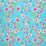 Seide, Satin, floral, 21373-10